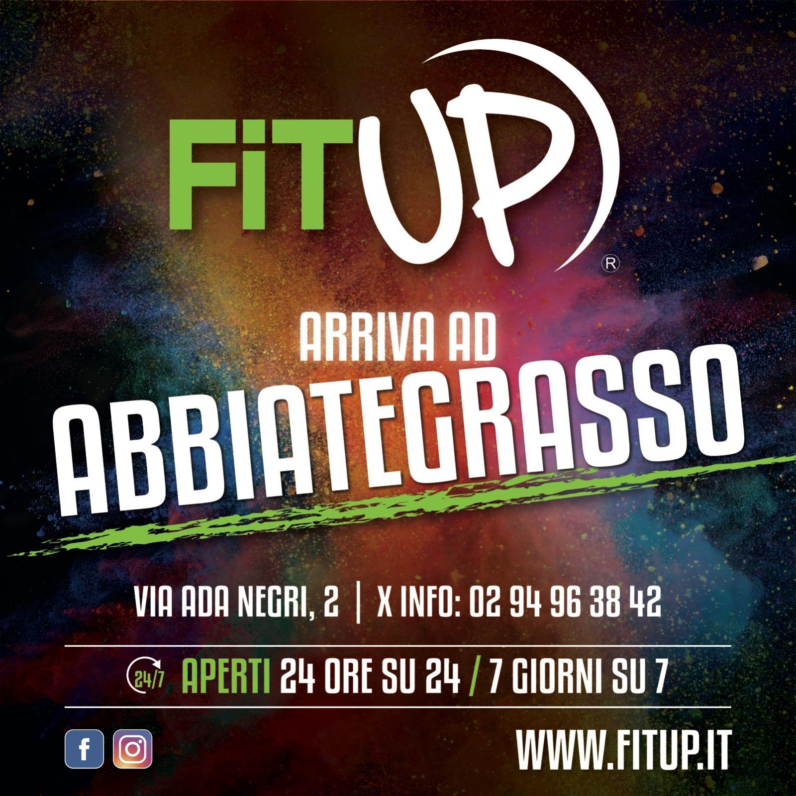 FitUP Abbiategrasso - Volantino