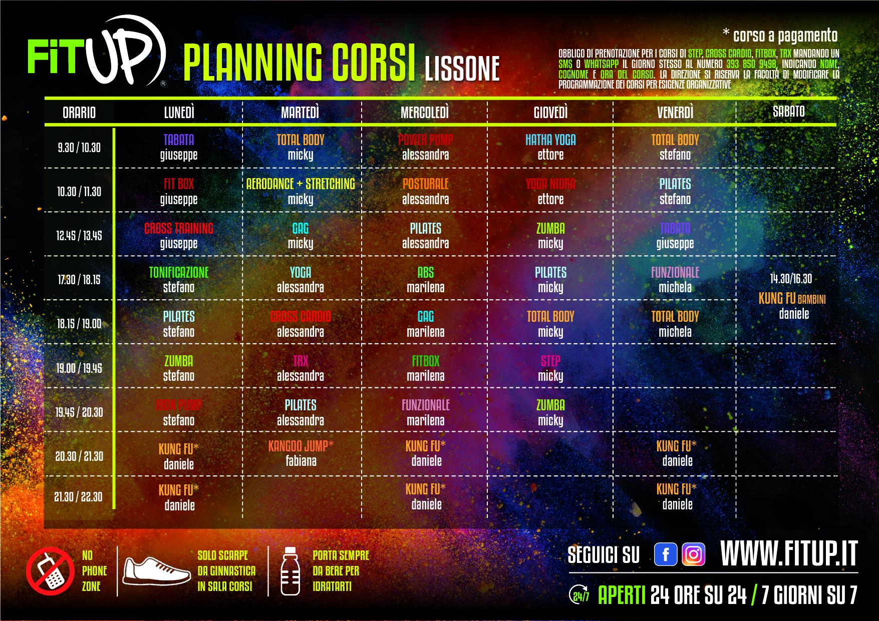 Planning Lissone 2020