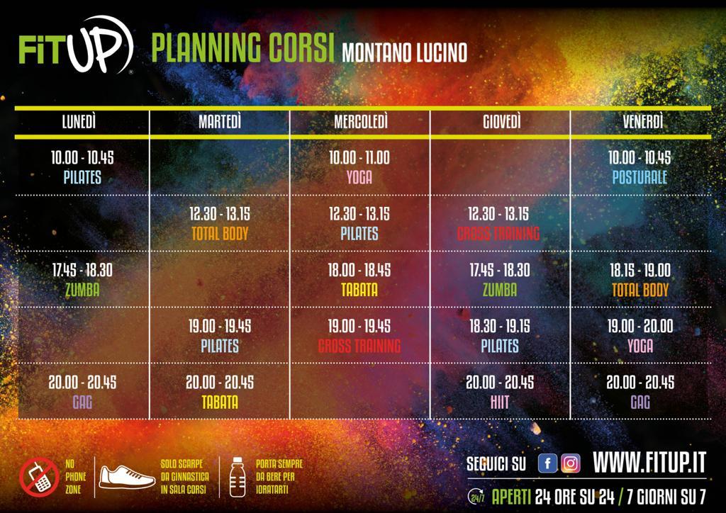 Planning Montano Lucino 2020